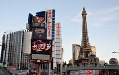 Ballys and Paris Paris Tower