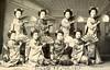 Maiko Girls Dancing with Fans 1910 (2) (Blue Ruin 1) Tags: maiko apprenticegeisha kyomaiko kyotoapprentice geiko geisha maiogi dancingfans japanese japan meijiperiod 1910 postcard inoueschool