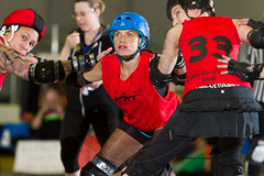 2016-06-04 Whitewood Block Party Game 5_007 (Mike Trottier) Tags: blockparty canada derby lcrd lilchicagorollerderby miketrottier miketrottierrollerderbyphotography moosejaw rollerderby saskatchewan whitewood can
