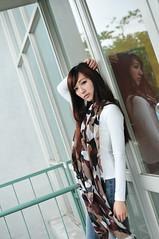 喬喬1014 (Mike (JPG直出~ 這就是我的忍道XD)) Tags: 喬喬 台灣大學 d300 model beauty 外拍 portrait 2013