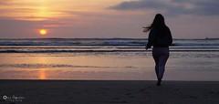 (OlayaGonzalez_Fotografia) Tags: sanjuandenieva playa asturias puestadesol atardecer mar