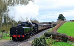 43106. (curly42) Tags: 43106 steam svr preservedsteamloco ivatt4mt tenderfirst severnvalleyrailway locoandcoaches svrspringgala2017