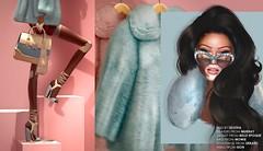Living Out Loud (geishagesu) Tags: geisha fujioka secondlife sl fashion fur
