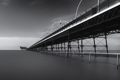 Southport Pier (nickcoates74) Tags: southport southportpier sony a6000 ilce6000 sigma 30mmf28dn 30mm affinityphoto sefton coast seaside nik nikcollection longexposure silverefexpro2 plugins lancashire