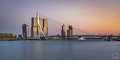 Rotterdam (JvdB Photography) Tags: 2017 bluehour city cityscape jochemvanderblom jvdbphotography kopvanzuid longexposure nikon nikond750 rotterdam tamronsp2470mmf28divcusd thenetherlands water architecture outdoors