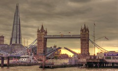 Tower Bridge (kathryn Wilkins) Tags: towerbridge london tower bridge riverthames shard evening sunset
