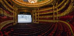 Empty seats (Adrien Marc (not commenting)) Tags: paris îledefrance france fr opera garnier opéragarnier opéranationaldeparis panorama hugin palaisgarnier