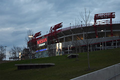 Nissan Stadium (ensign_beedrill) Tags: nashvilleriverfront footballstadiums nfl nationalfootballleague football afc americanfootballconference tennesseetitans nissanstadium nashvilletrip2017