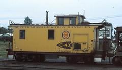 Missabe C-43 (M.R.Kirk) Tags: missbe dmir caboose yellow arrowhead