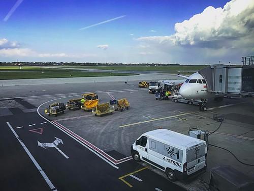 #airport #beograd #belgrad #belgrade #airplane #flight #flughafen #flugzeug #reisen
