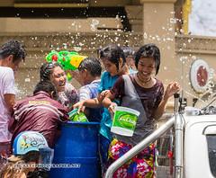 Songkran at Phuket, Thailand (Andaman4fun) Tags: songkran new year thailand phuket water festival holiday fun funny wet splash people smile girl woman women bike motorcycle пхукет сонгкран таиланд фестиваль вода водный тайланд остров люди счастье красивый