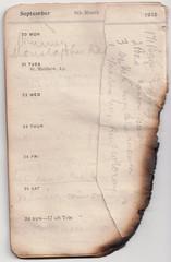 4-10 Oct 1915 - ripped (wheresshelly) Tags: ww1 wwi world war 1 australia gallipoli egypt military australian 4th field ambulance anzac morton wilfred