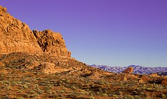 Valley of Fire 3578 C (jim.choate59) Tags: valleyoffire desert jchoate nevada rock stone cliff sandstone goldenhour on1pics