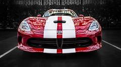 Powerful (1) (Jill Pasarell Photography) Tags: viper dodgeviper lasvegasnv nv cars sportscars jillpasarellphotography jillpasarell perspective fineartphotography