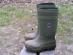 DUNLOP  Thermo  001 (stevelman14) Tags: dunlop thermo groengroen laarzen nieuw schoon poseren outdoor