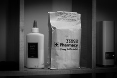 113/365 : Essentials (fmgbain) Tags: 365 blackandwhite bw glue medication networkattachedstorage nas 50mm canon50d
