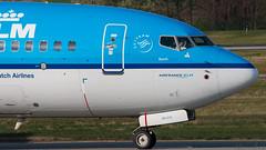 goodbye wave (keriarpi) Tags: lhbp spotting spotter spotterdomb ferihegy bud budapest airplane plane airline aircraft jet phbxk boeing 7378k2 klm 737 738