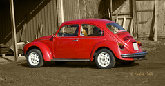 VW 1303 (F.Valdt) Tags: sweden sverige 1975 car bil veteranare bubbla vw beatle
