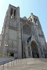 Grace Cathedral (JB by the Sea) Tags: sanfrancisco california april2017 urban nobhill gracecathedral church gothic frenchgothic