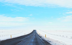 lonely road (knispel.max) Tags: iceland lonelyroad mountains vulcanes snow winter cold alone travel travelphotgraphy vacation