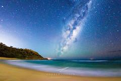 Spoon Bay Milky Way (Andrew Cooney Photography) Tags: andrew cooney milky way astrophotography central coast nsw new south wales australia australian landscape spoon bay night sky