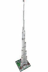 Burj Khalifa updated (Υubnub) Tags: lego moc burjkhalifa burjdubai 1650 skyscraper