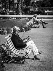 Solitude (totofffff) Tags: cannes croisette french riviéra street portrait em1 zuiko 14150 ii film festival