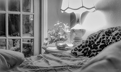 Quaint & Cozy (JDS Fine Art Photography) Tags: bw bedroom cozy quaint charming atmosphere oldfashioned night nighttime
