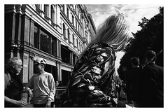 Street scenes (danieltim.net) Tags: streetphotography blackandwhite film rolleiretro400s pushprocess contrast city urban scene decisivemoment helsinki europe candidstreet