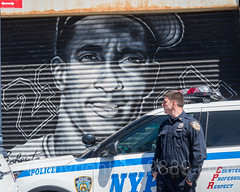 NYPD Police Officer with Patrol Car near Yankee Stadium, The Bronx, New York City (jag9889) Tags: 2017 20170423 al allamericacity americanleague architecture auto automobile ballpark baseball baseballteam bombers bronx building canvas car cop finest firstresponder graffiti house lawenforcement majorleaguebaseball mural ny nyyankees nyc nypd nyy newyankeestadium newyork newyorkcity newyorkcitypolicedepartment newyorkyankees officer outdoor painting pinstripes police policedepartment policeofficer policepatrolcar robertoclemente southbronx stadium tagging thebronx thebronxbombers theyanks transportation usa unitedstates unitedstatesofamerica vehicle yankeestadium yankeestadiumiii yankees jag9889