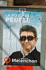 Mélenchon (pierre-alain dorange) Tags: élections présidentielles 2017 affiches affiche