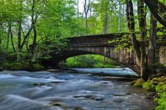 Old Bridge (Rusty4344) Tags: outdoors outdoor rivers rocks bridges nikon northcarolina green