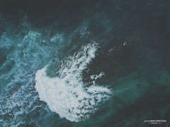 White Water (jsmDIGITAL) Tags: water aerial uav drone quadcopter swell
