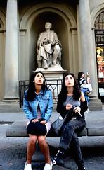 (pieroemme) Tags: looks people potrait statue firenze florence streetphotograpy street streetlife sguardo eyes tuscany toscana human