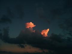 End (cocolotus) Tags: sunset cloud clouds color colours sky blue puesta de sol vespre noche night day mobile catalonia landscape
