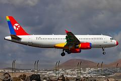 OY-JRZ_01 (GH@BHD) Tags: oyjrz airbus a320 a320200 dat danishairtransport ace gcrr arrecifeairport arrecife lanzarote airliner aircraft aviation