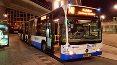 GVB Amsterdam Mercedes Citaro number 353 on night bus service 748 (sirgunho) Tags: gvb amsterdam mercedes citaro number 353 night bus service 748 public transport the netherlands holland
