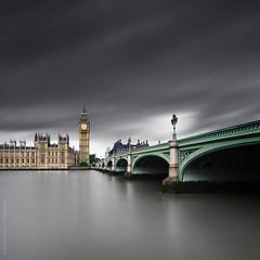 Westminster (philnewberryphotography) Tags: longexposure westminsterbridge thames landscape architecture buildingsstructuresfeatures bigben elisabethtower landscapes limitededition places le