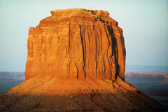 Monument Valley (Bill in DC) Tags: ut utah monumentvalleynationalpark film kodacolor canon eosa2 smp6 1996