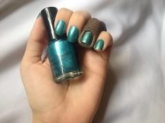 GR01 (Missha) (Daniela nailwear) Tags: gr01 missha verde foil esmaltes esmalteimportado mãofeita