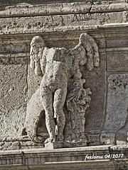Almería 10 Catedral (ferlomu) Tags: almeria andalucia blancoynegro escultura estatua ferlomu