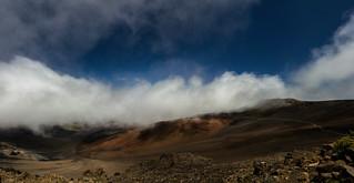 Haleakala crater (summit)