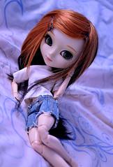 Waiting for you   Pullip Xiao Fan (·Kumo~Milk·^^) Tags: pullip sakura groove rewigged wig eyelashes gloss obitsu doll junplanning xiaofan