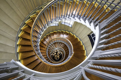 Brewer's Staircase Reprised (Hemzah Ahmed) Tags: brewersstaircase cecilbrewer heals healsoflondon spiral spiralstaircase spirals stairs perspective architecture london londonarchitecture londonist londonbylondoners londonbuildings londontown timeoutlondon geometry light canon1635mmf4 canon5dmarkiii canon5dmark3 tottenhamcourtrd tottenhamcourtroad westend eye