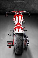 Victory Jackpot Custom - Shot 4 (Dejan Marinkovic Photography) Tags: bike hammer lightpainting motorcycle scallops victory custombike