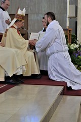 Andrew Boyd professes Obedience to the Bishop