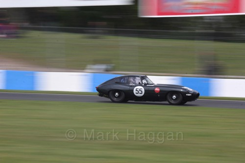 The Jaguar Challenge at the Donington Historic Festival 2017