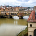 Ponte Vecchio from the Uffizi, Florence Italy