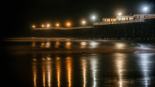 Pacific Beach at Midnight