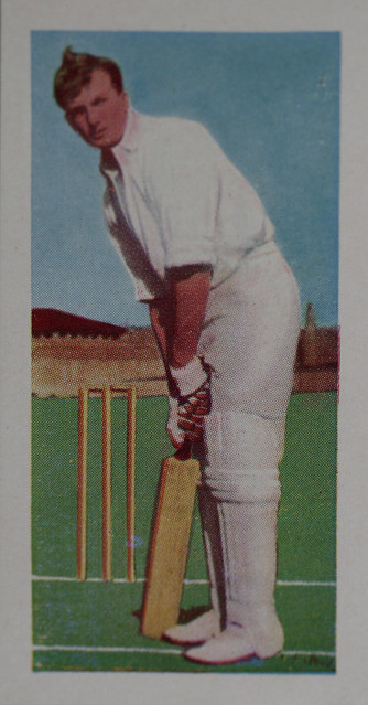 Kane Products Ltd 1956 Cricketers - RICHIE BENAUD (New South Wales)